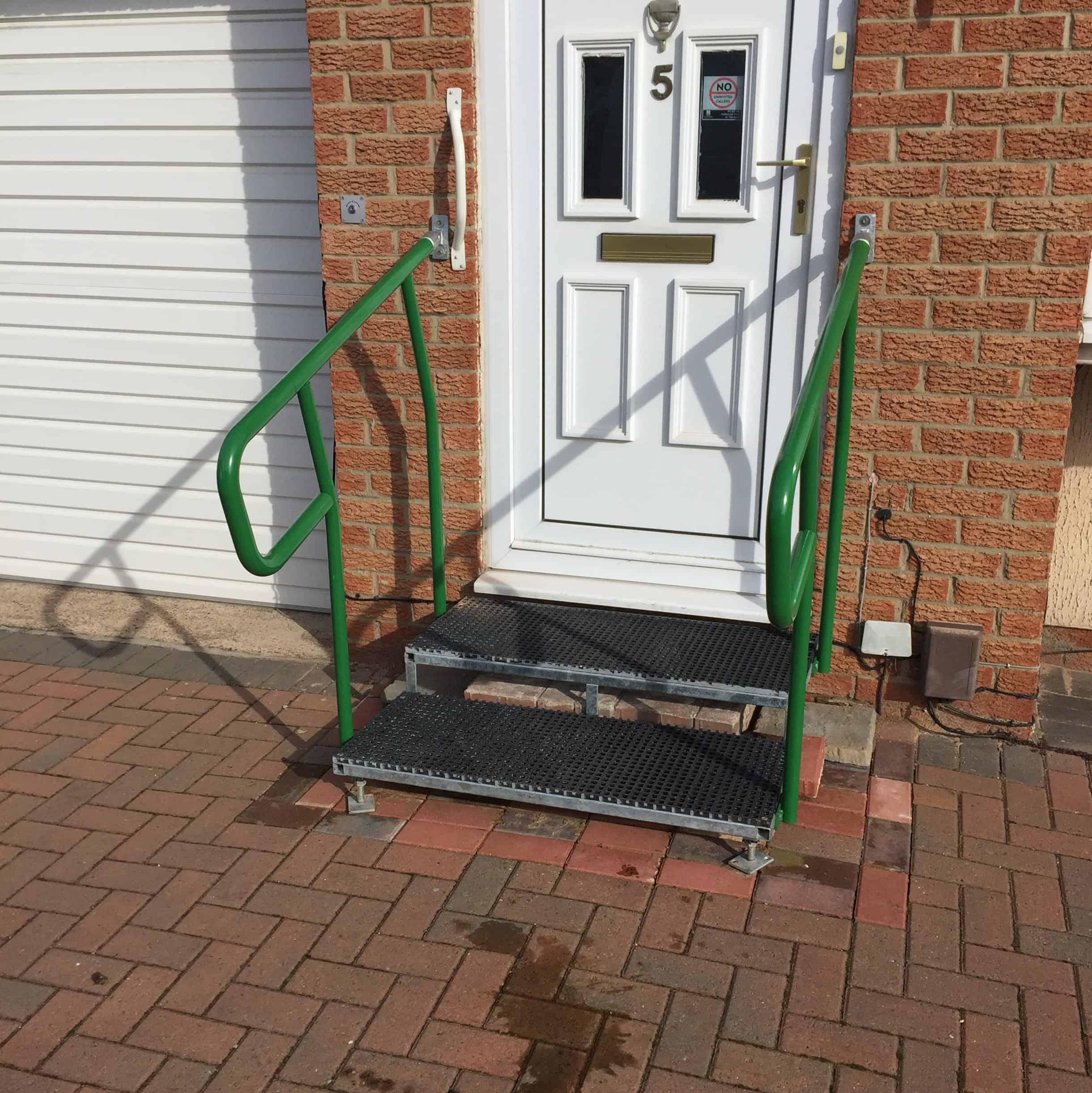 Garden Handrails For Disabled