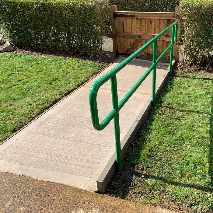 powder-coated-handrail-carlton-design-fabrication